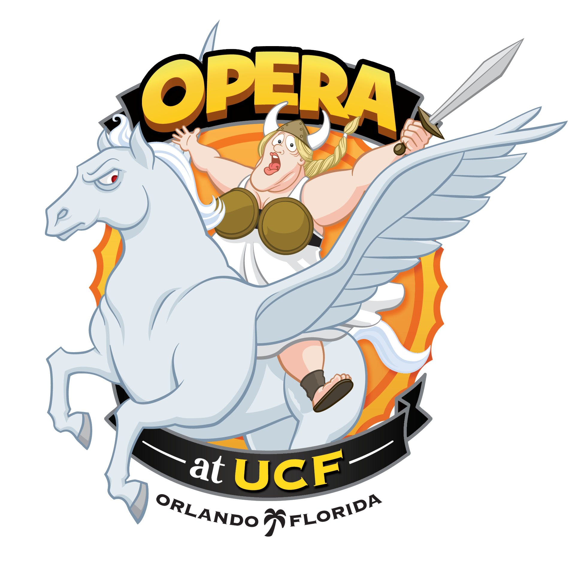 2014-UCF Opera-Fat Lady-Pegasus