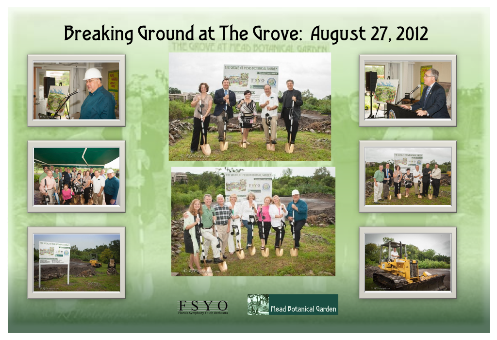 The Grove Will Provide Our Young Musicians With An Opportunity To Perform  On A Stage, Surrounded By Mead Gardenu0027s ...